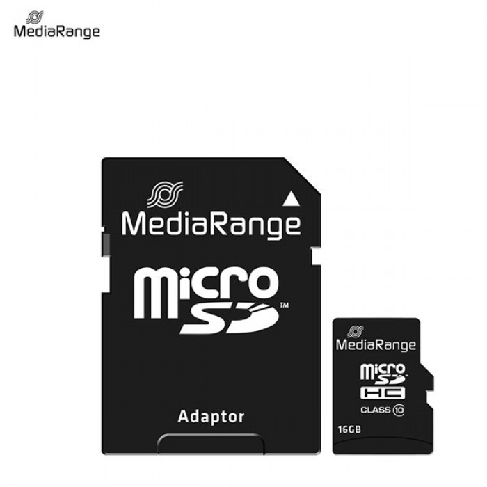 MICRO SD MEDIARANGE 16GB CLASS 10 HC