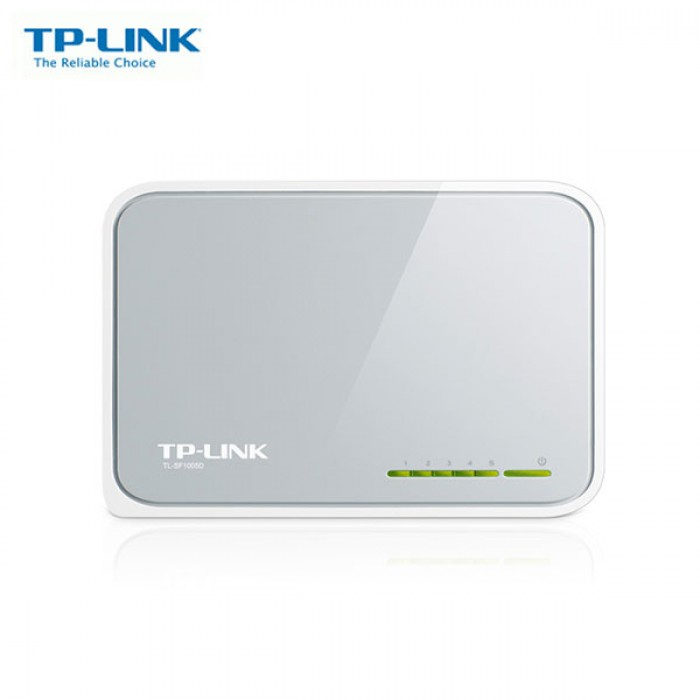 SWITCH TP LINK TL SF1005D 5-PORTS 10/100