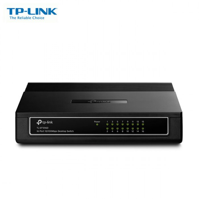 SWITCH TP LINK TL-SF1016D 16-PORT 10/100