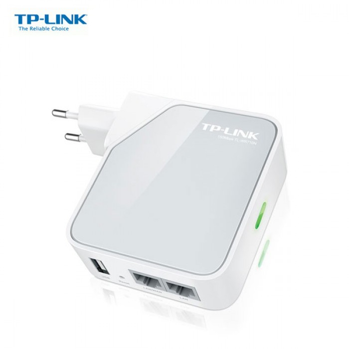 TP-LINK Wi-Fi Pocket Router/AP/TV Adapter/Repeater - TL-WR710N