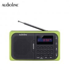 ΨΗΦΙΑΚΟ ΦΟΡΗΤΟ ΡΑΔΙΟΦΩΝΟ FM TR-210 USB-SD