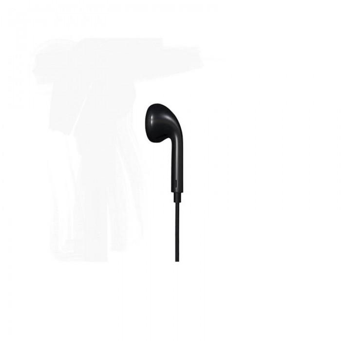 EARPHONE REMAX SINGLE BLACK RM-01