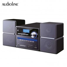 MICRO HI-FI AUDIOLINE DM-102P USB/DVD/CD/MP3 PLAYER